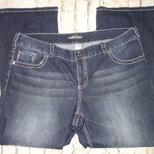 Bootcut Jeans Flap Pockets Maurices